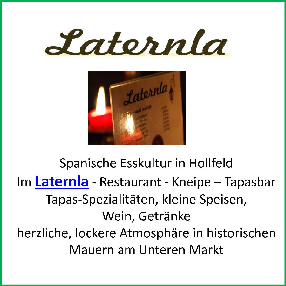 Laternla-Präsentation